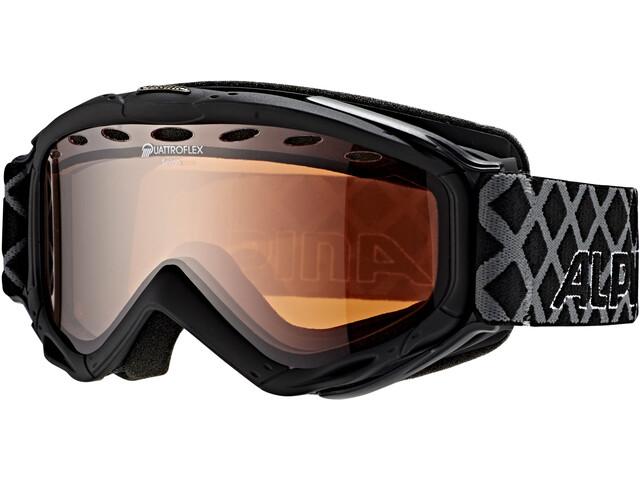 Alpina Spice Quattroflex Hicon S2 Goggle black